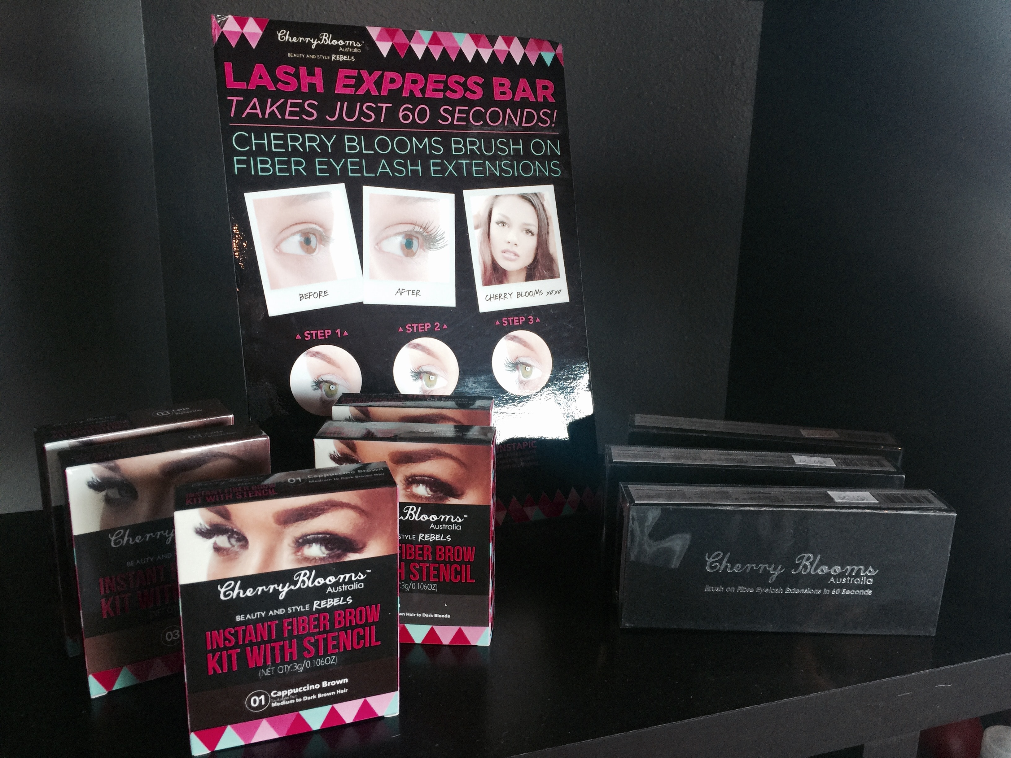 Cherry Blooms Fiber Mascara & Eyelash Fibers